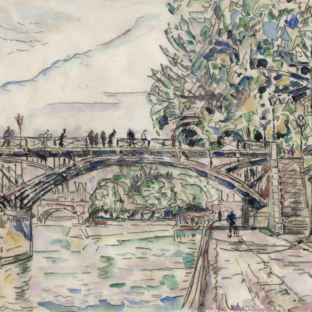 Paris, le Pont des Arts