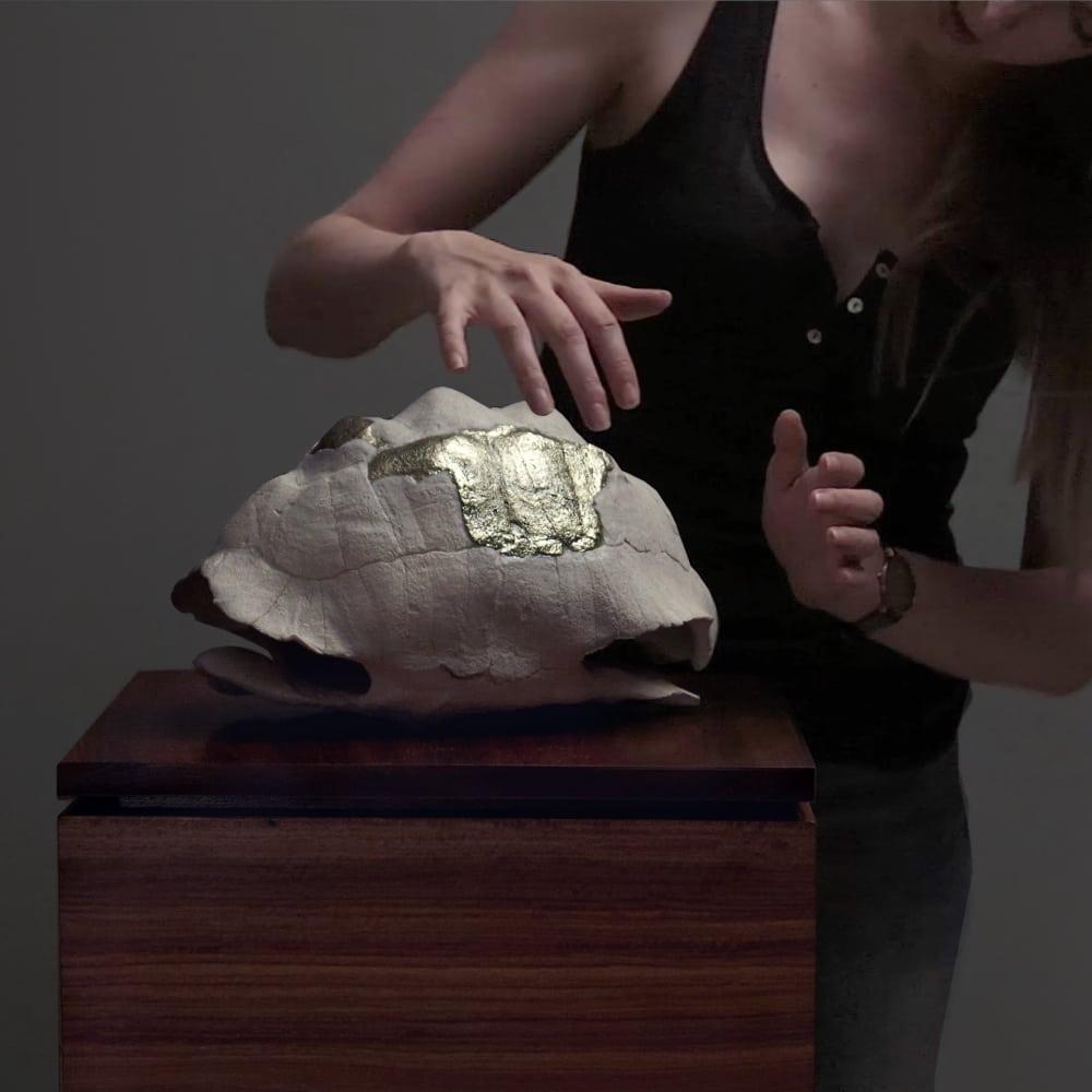 Jenna Burchell l Songsmith (Fragile Homes) l 2018 l Edition of 4 l 41x41x40cm