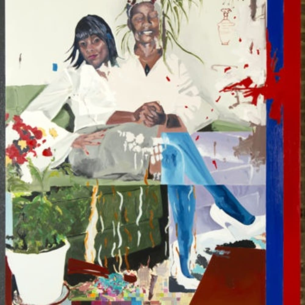 Kudzanai-Violet Hwami, Hosanna! Hosanna!, 2018.  COURTESY THE ARTIST AND TYBURN GALLERY