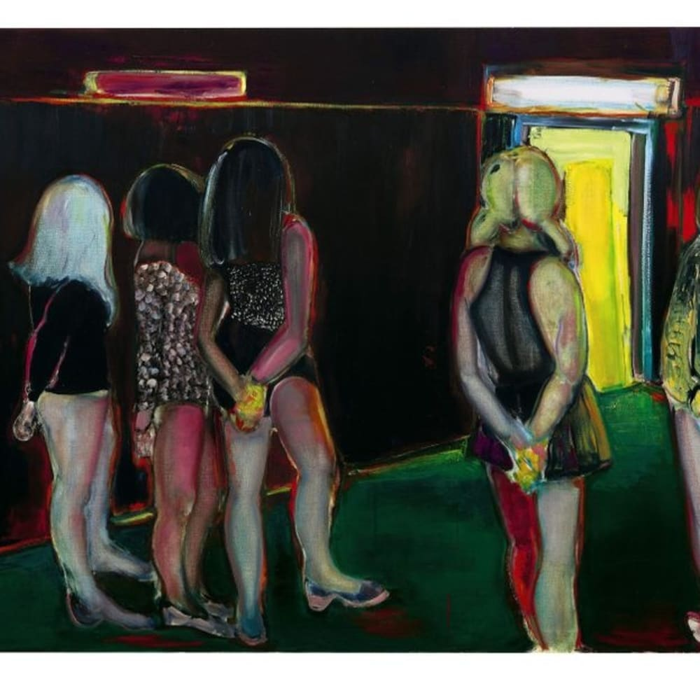 Marlene Dumas's The Visitor (1995) sold for $6.3m in 2008. Courtesy of Sotheby's