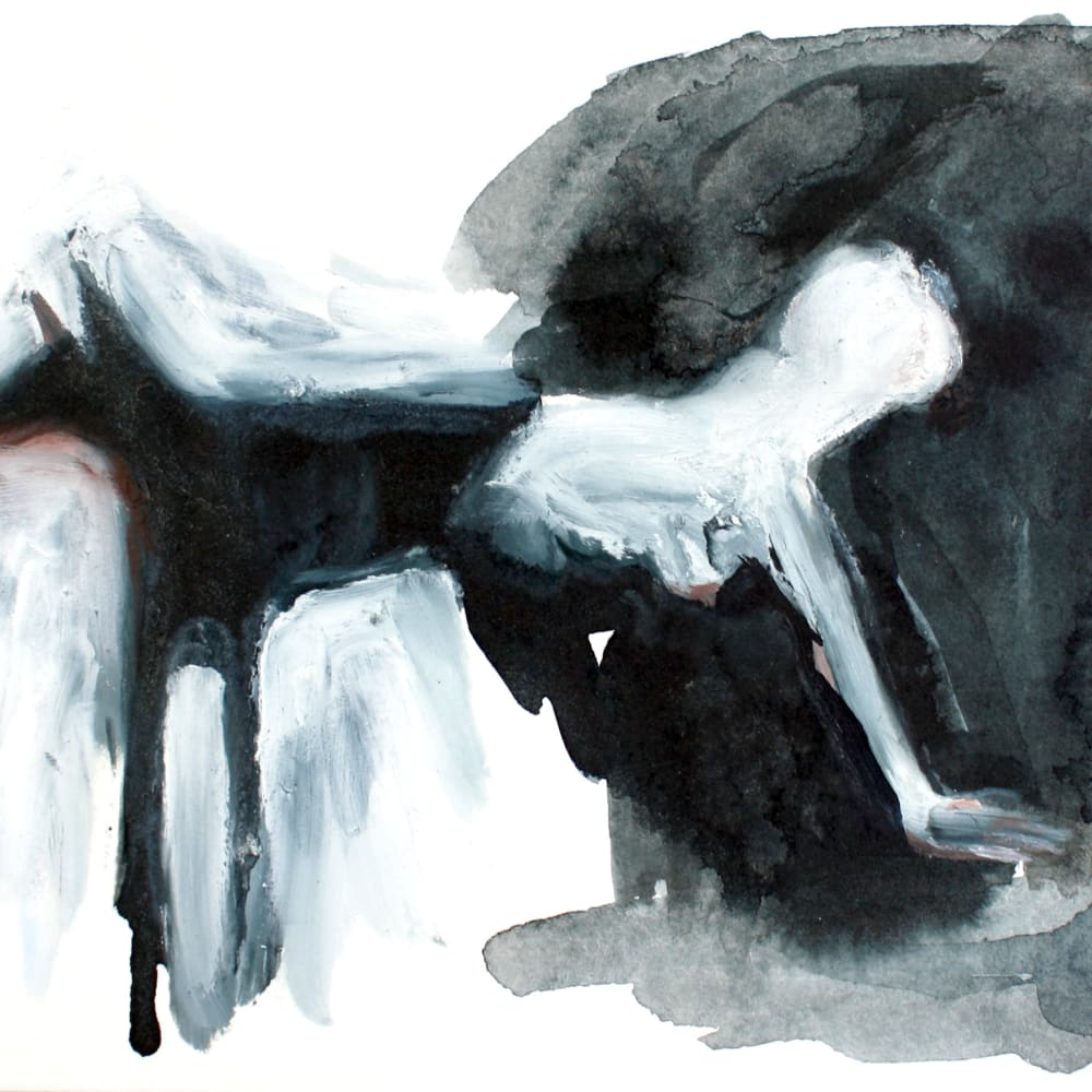 Isabelle Grobler, The Cannibals' Concupiscence : Communion with Doubt 1, 2020, Mixed media on paper, 21 x 15 cmCancel