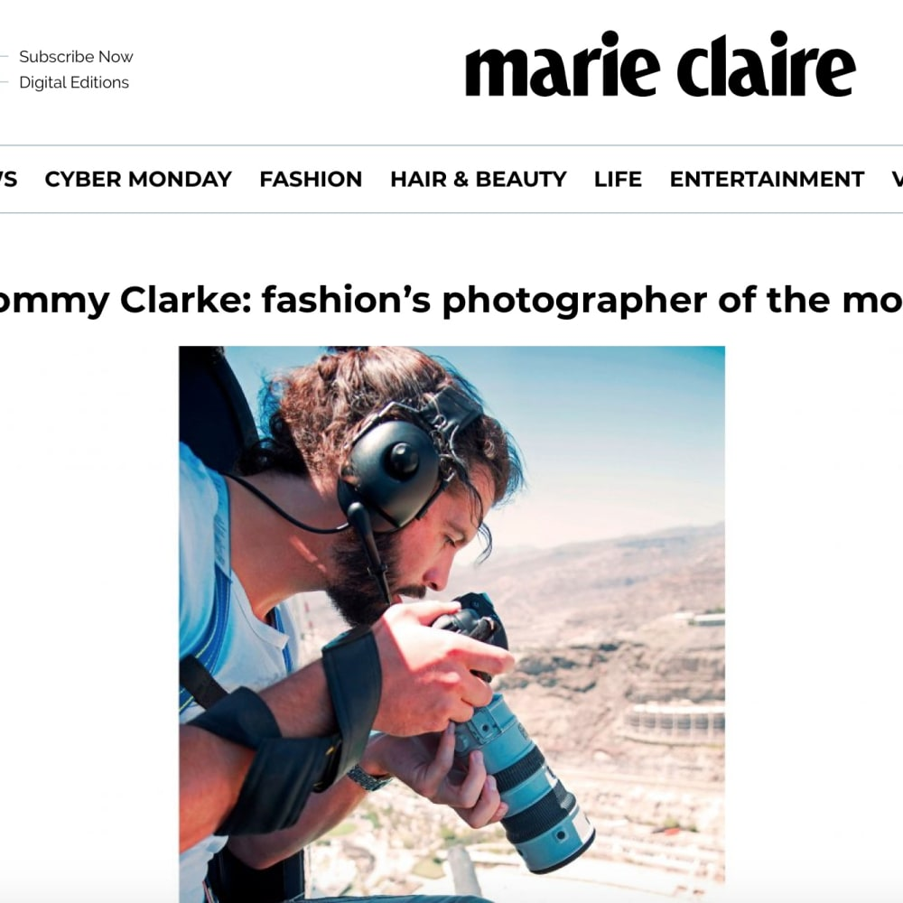 Marie Claire on Tommy's collaboration with M&S