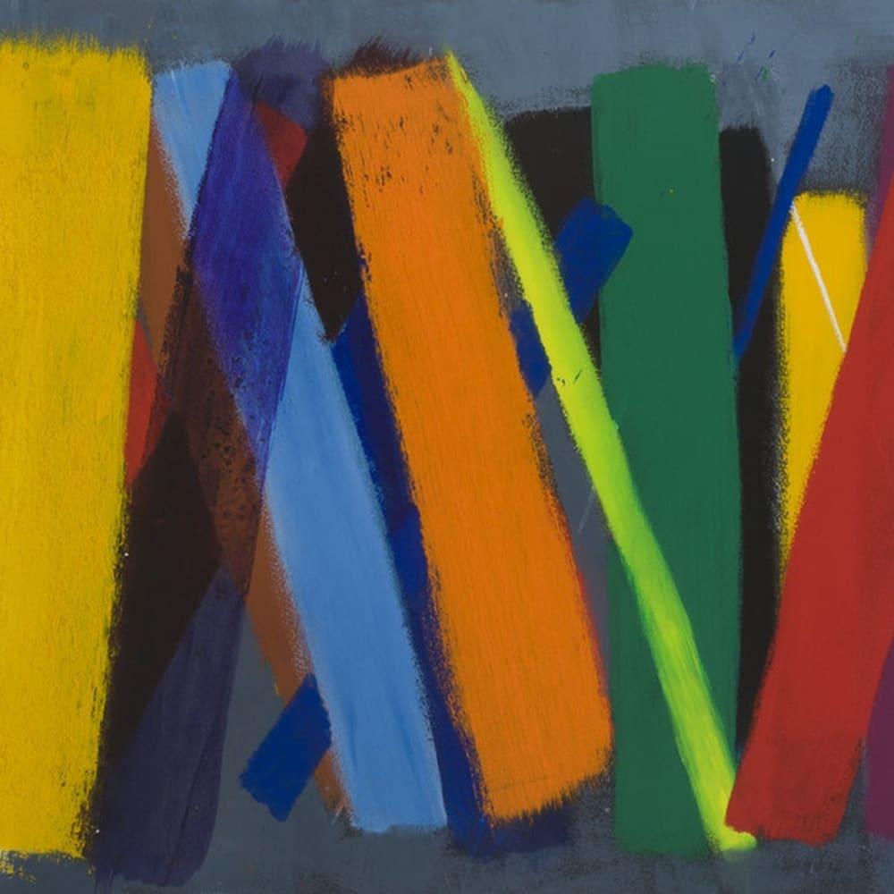 WILHELMINA BARNS-GRAHAM - Scorpio Series 2 No.53, 1996-97, Acrylic on paper, 22 x 30 in.