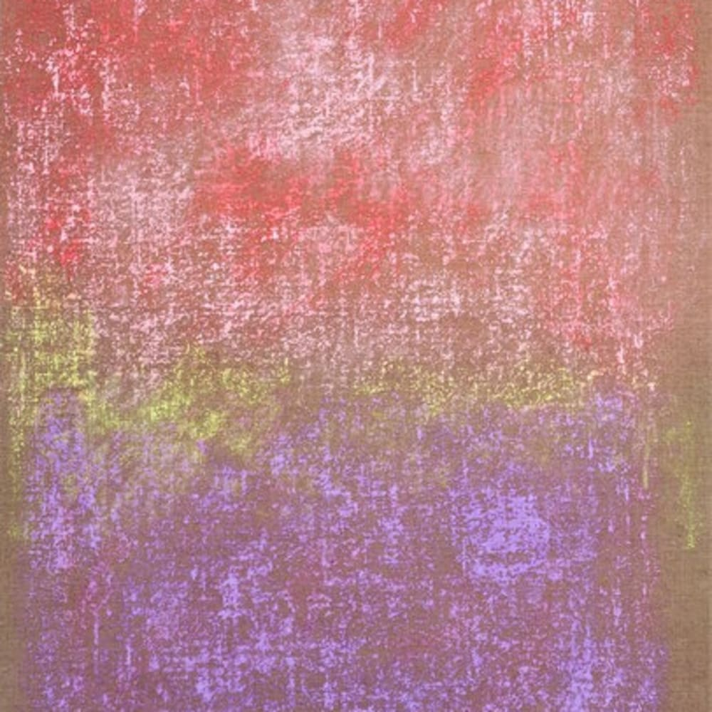MONIQUE FRYDMAN - Tabula IV, 2013, Dry pigments and binder on canvas, 36 x 22 in.