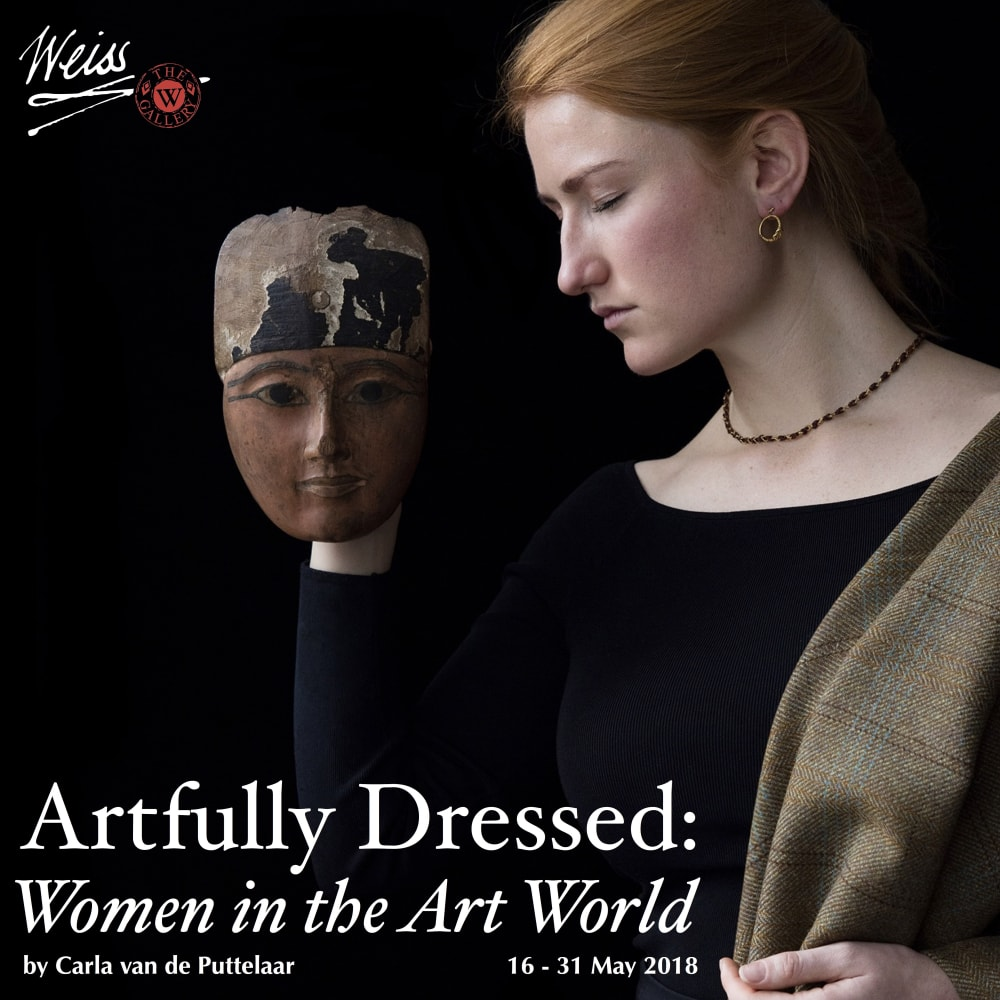 "The Weiss Gallery presents: ""ARTFULLY DRESSED: WOMEN IN THE ART WORLD"" - Portraits by Carla van de Puttelaar"