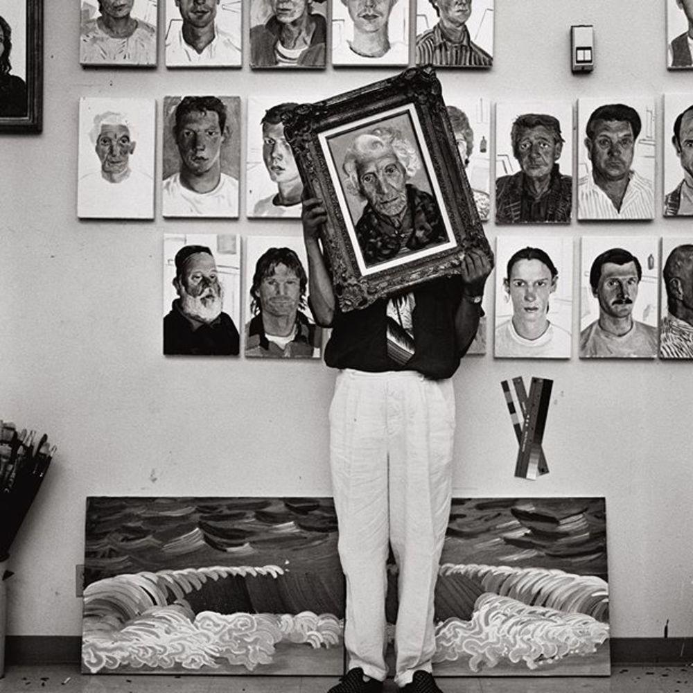 Happy Birthday David Hockney, who was born on this day in 1937.  Image: 'David Hockney, Los Angeles,...