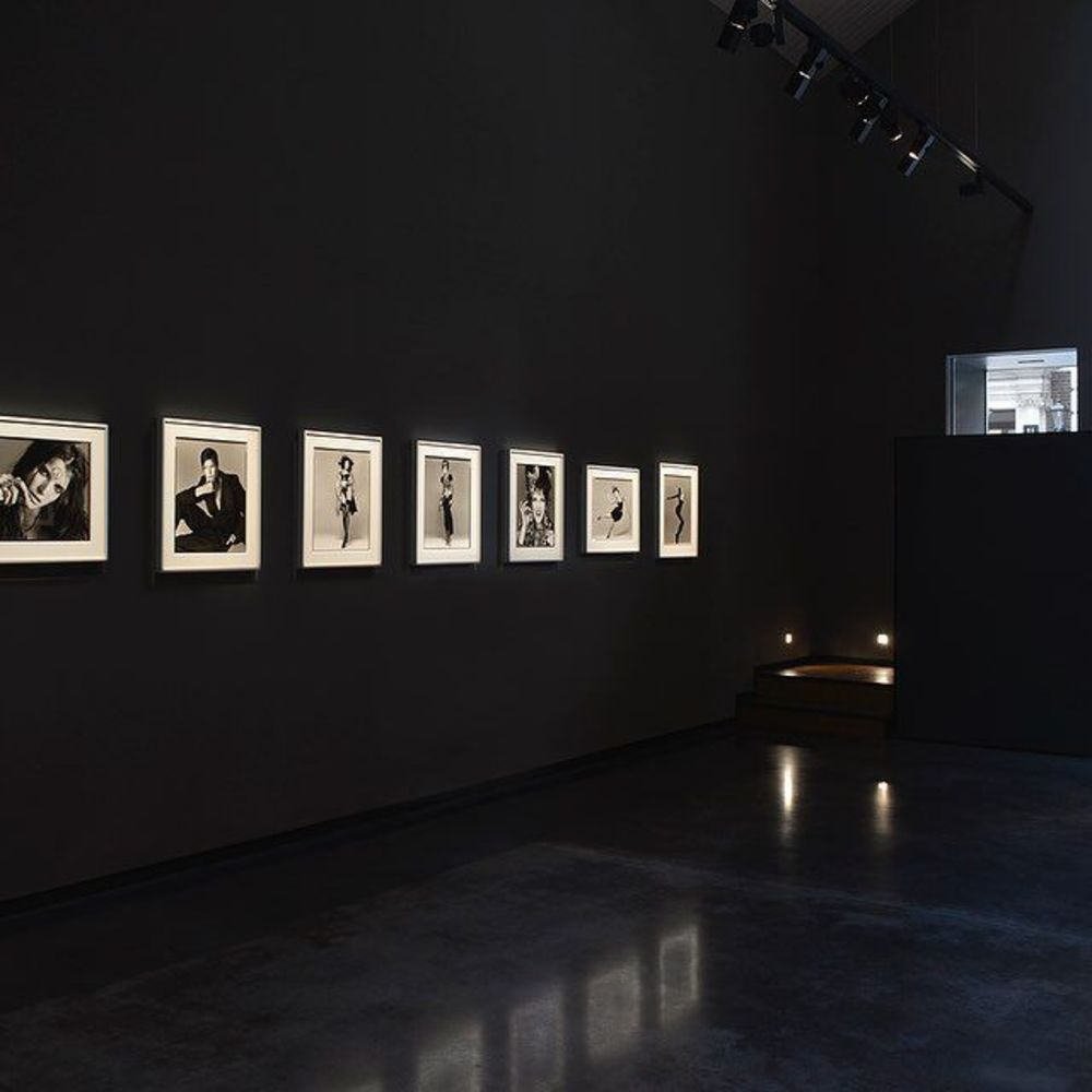 'Richard Avedon: Portfolios' is an exhibition of two rare portfolios, 'La Passante du Siècle' and 'M...