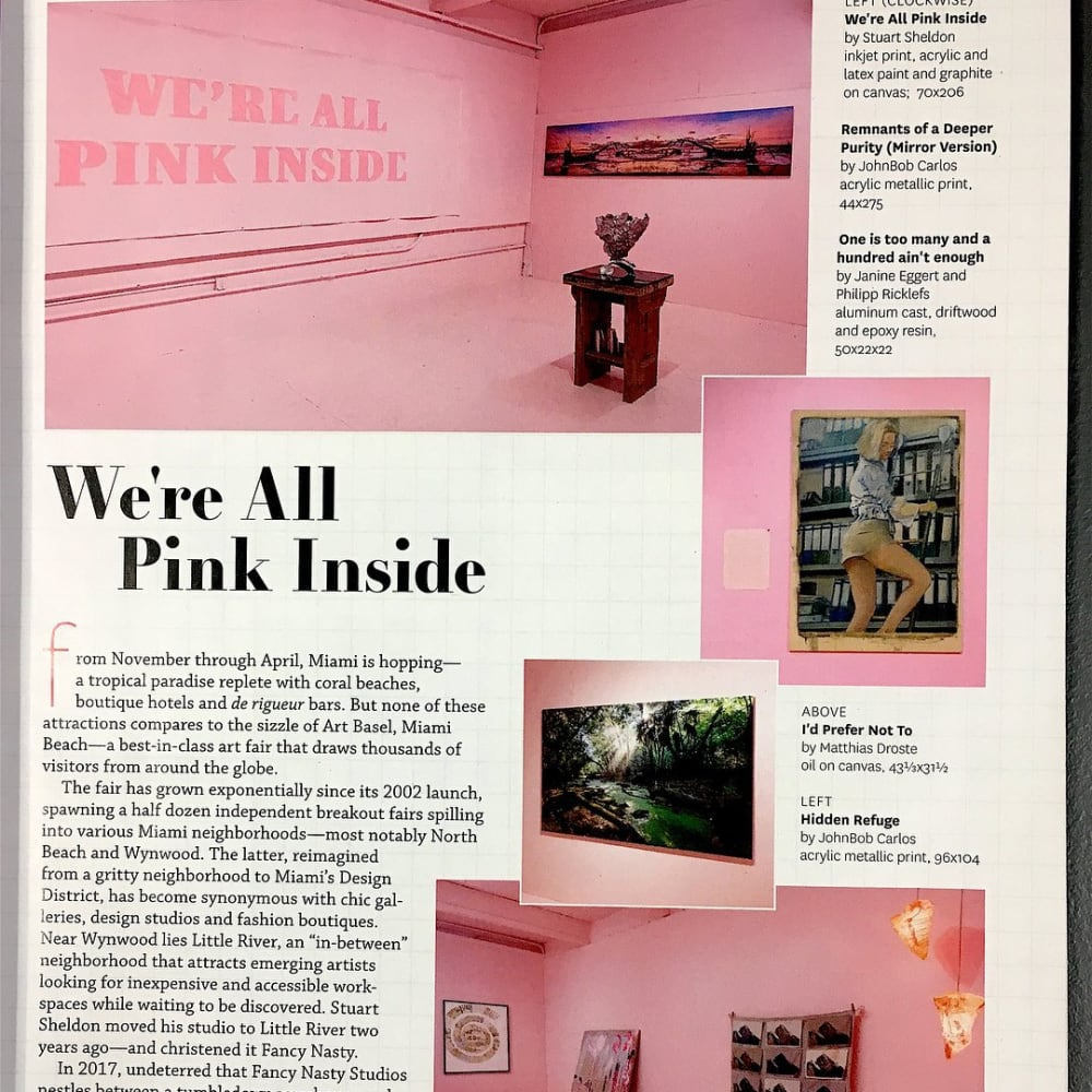We're All Pink Inside - Miami
