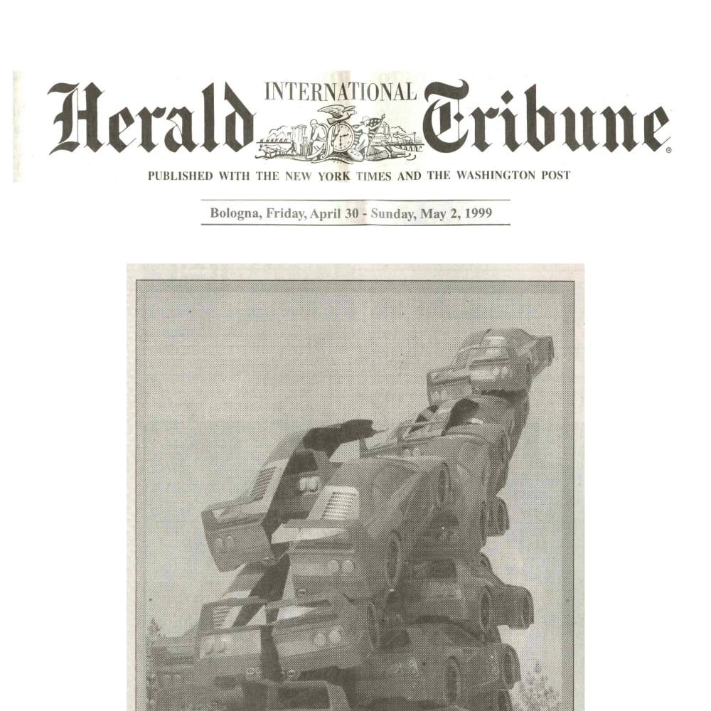© Maggiore g.a.m. | Herald Tribune, April 30th, 1999