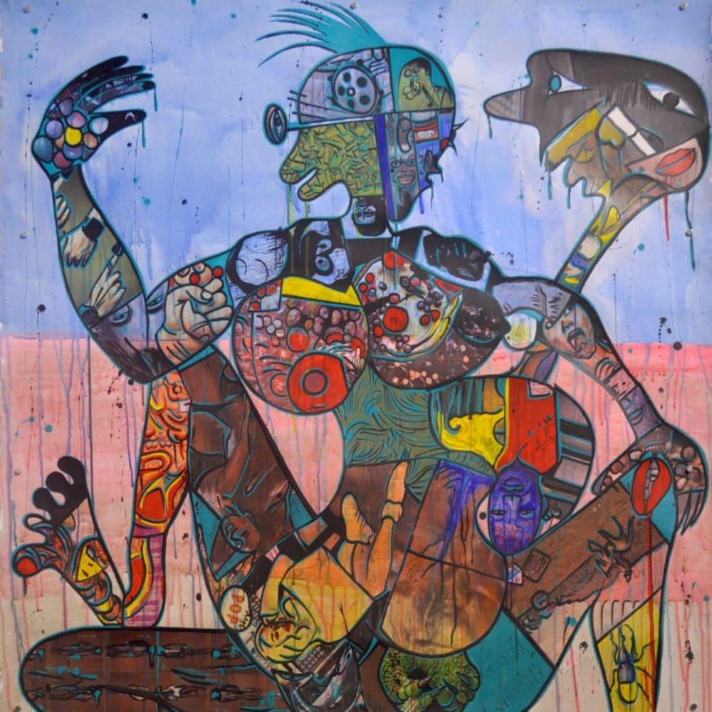 Blessing Ngobeni, Silence Note II, 2016