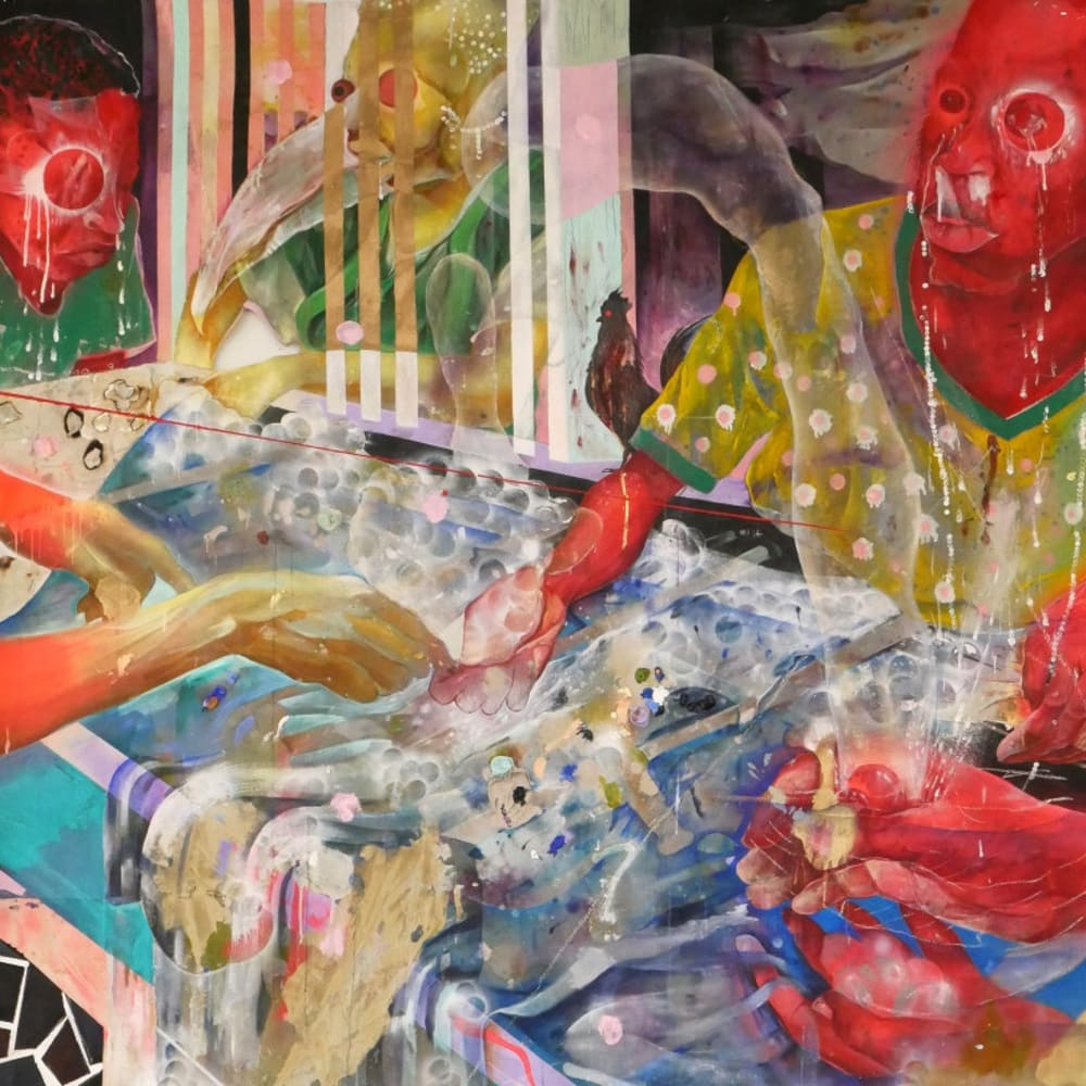 Lavar Munroe, Bathwater, 2020