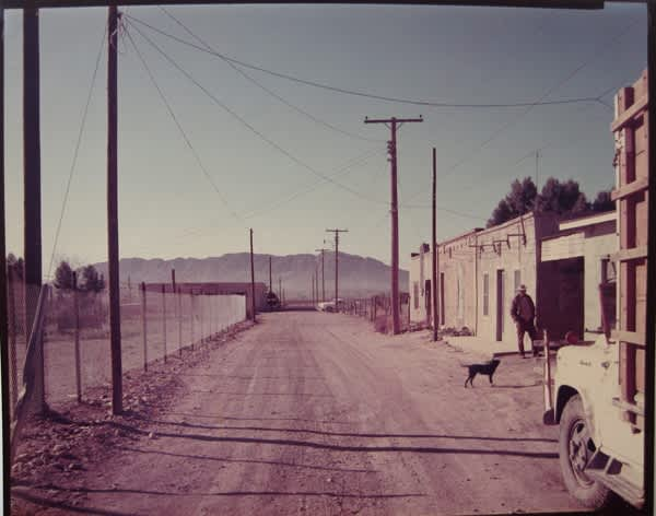 Stephen Shore, Back Road, Presidio, TX, 1975
