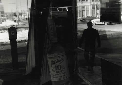 Lee Friedlander, Untitled, (J.W. Dant's)