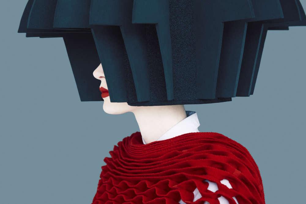 Erik Madigan Heck, Junya, (Honeycomb), Old Future, 2015