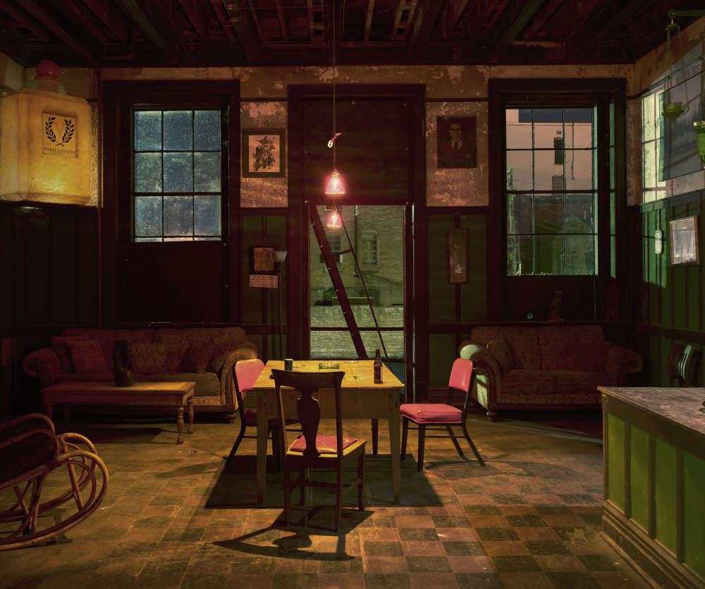 Andrew Moore, Back Room, Harmony Club, Selma, AL, 2017