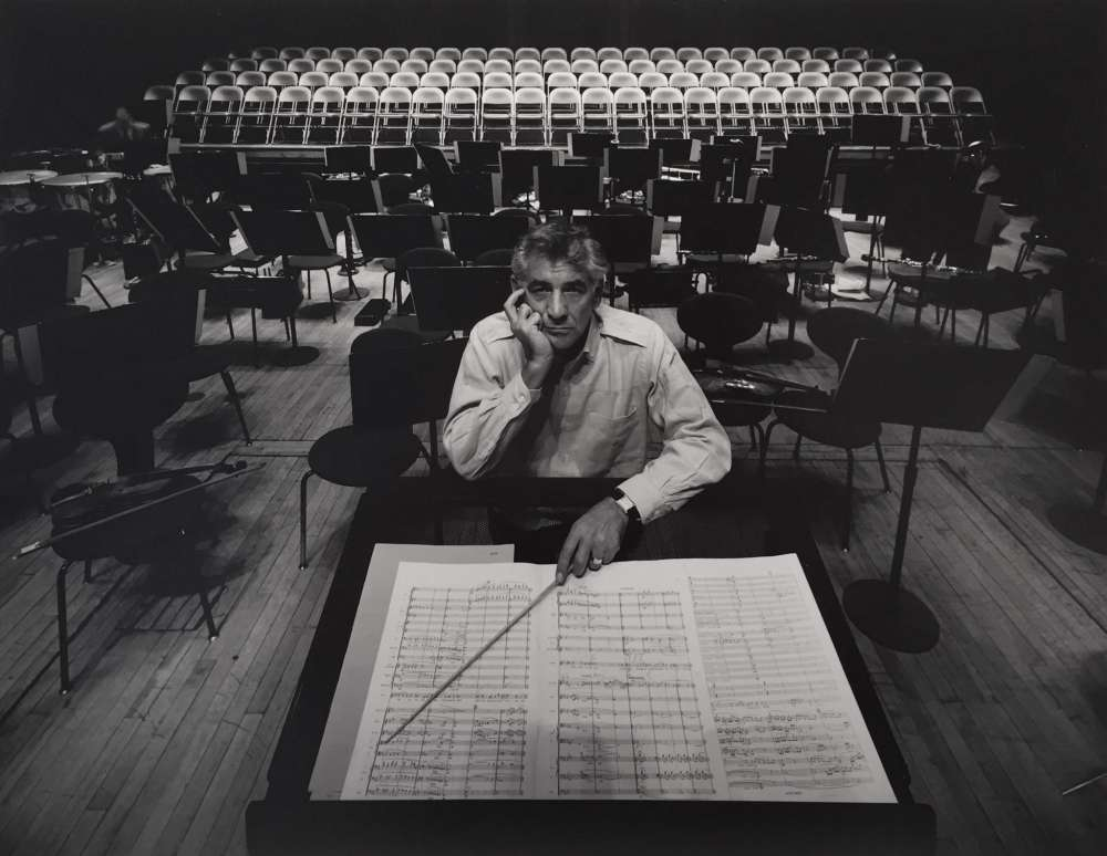Arnold Newman, Leonard Bernstein, New York City, 1968