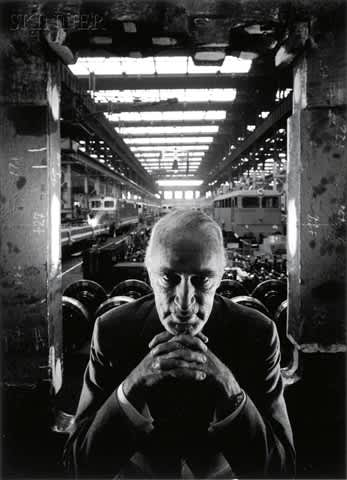 Arnold Newman, Alfred Krupp, Essen Germany, 1963