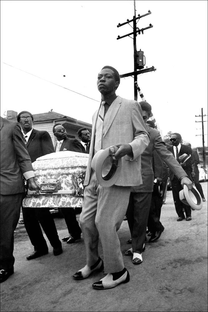 Leo Touchet, Jazz Funeral, New Orleans, Louisiana, No. 10, 1970