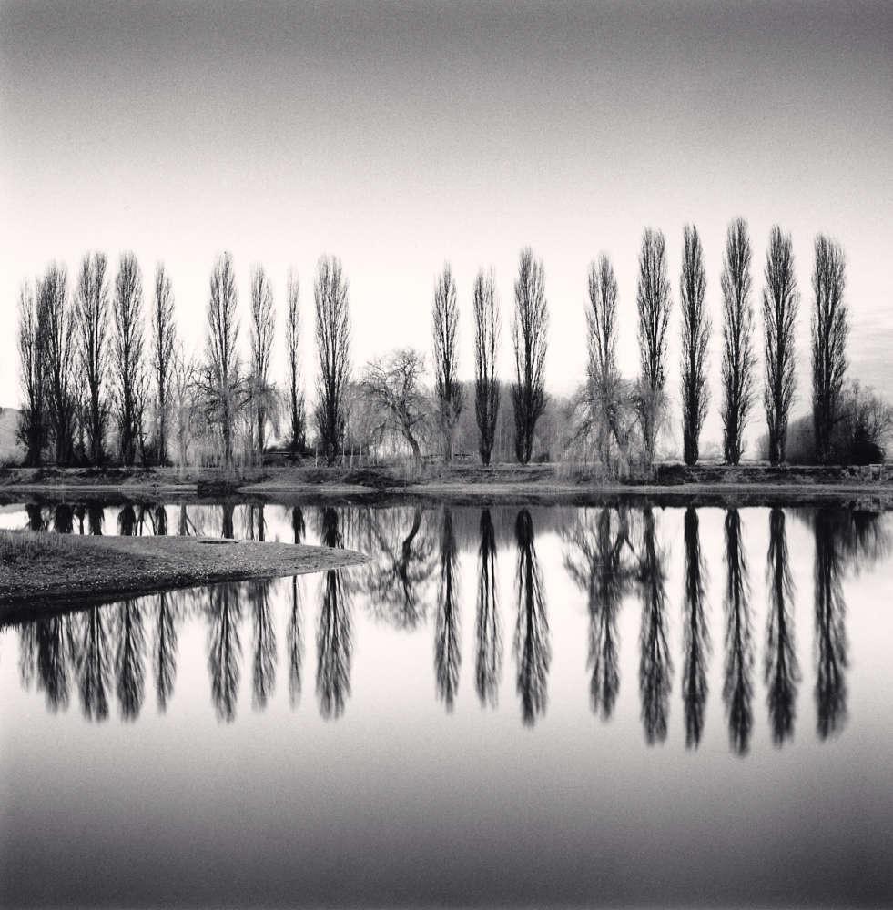 Michael Kenna, Ortucchio Lake Reflection, Fucino, Abruzzo, Italy, 2016