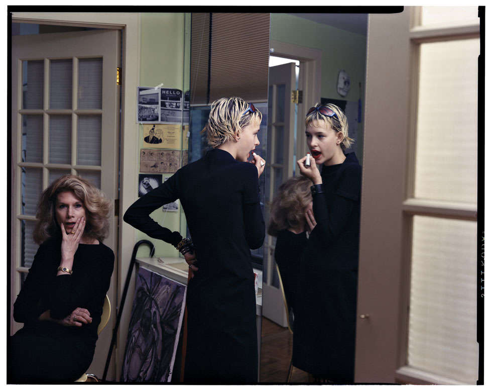 Elton John AIDS Foundation Photography Portfolio II, Tina Barney: The Lipstick, 1999