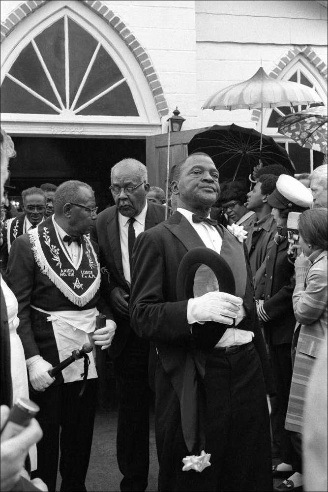 Leo Touchet, Jazz Funeral, New Orleans, Louisiana, No. 1, 1969