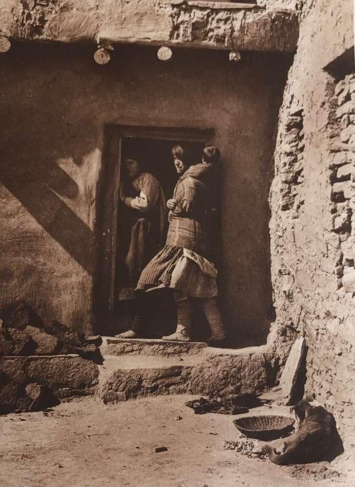 Edward S. Curtis, A Zuni Doorway, 1903