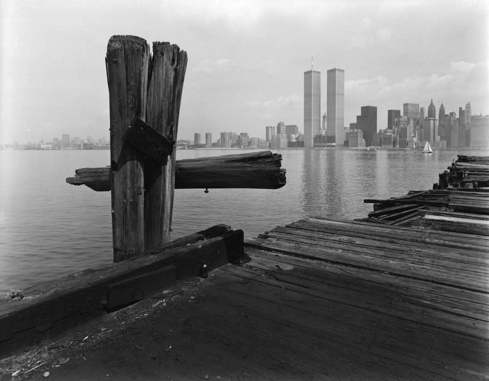 George Tice, Hudson River Pier, Jersey City, New Jersey, 1979