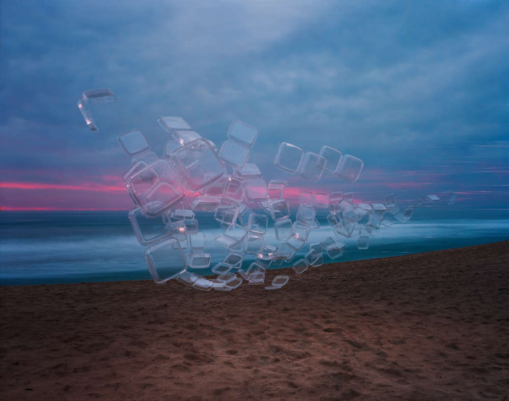 Thomas Jackson, Take Out Containers no. 2, Montara, California, 2018