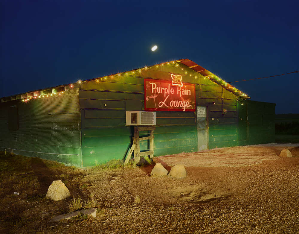Birney Imes, The Purple Rain Lounge, Duncan, 1989
