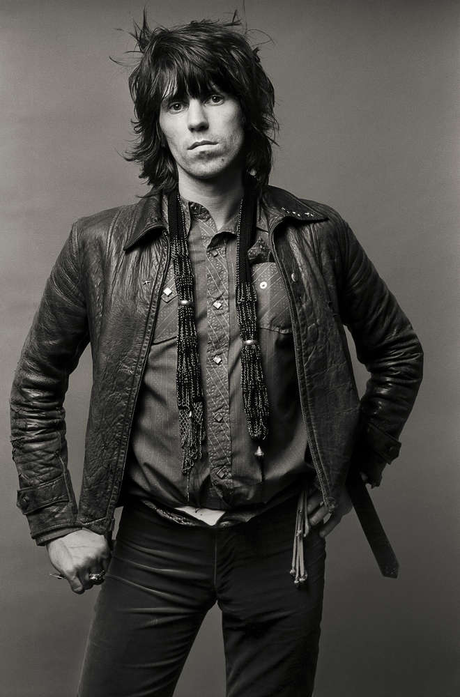 Norman Seeff, Keith Richards, Los Angeles, (