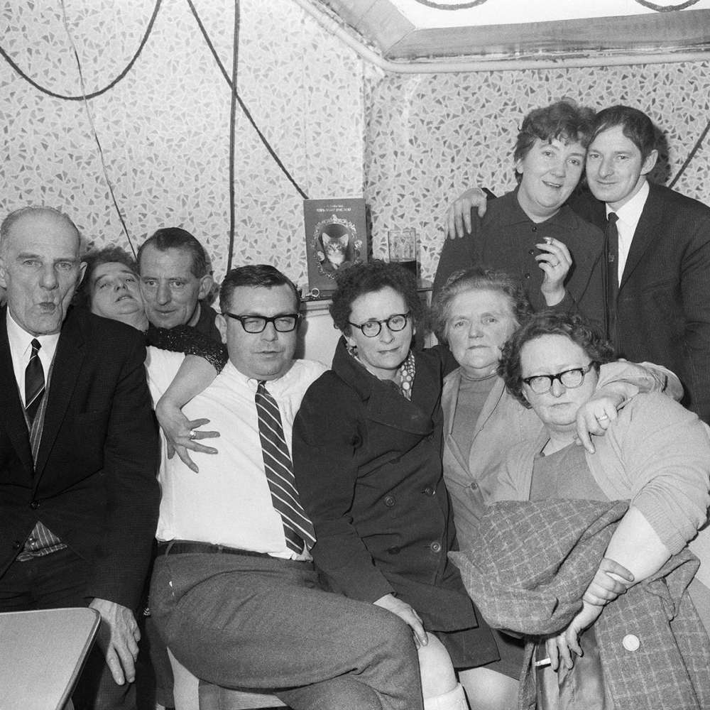 Dennis Dinneen, Untitled (bar group photo), 1950s - 1970s