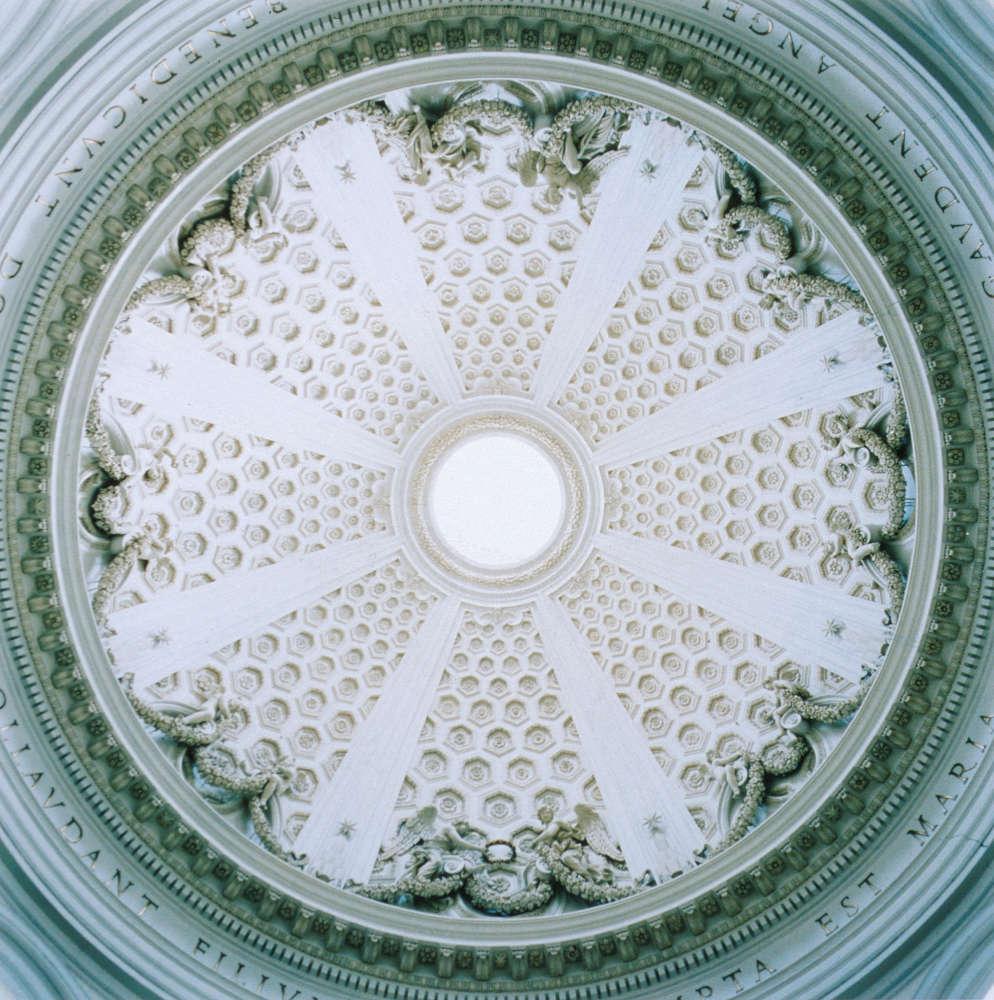 David Stephenson, Dome #26011, Santa Maria dell Assunzione, Arricia, Italy, 1997