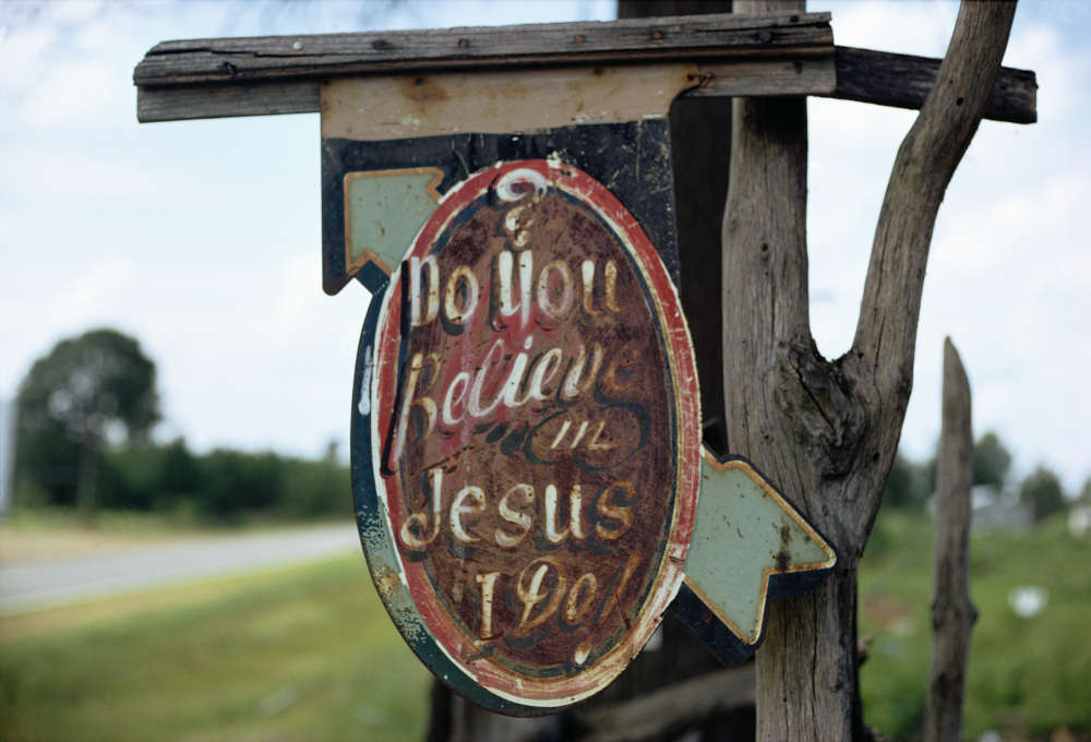 William Christenberry, Do You Believe in Jesus, I Do