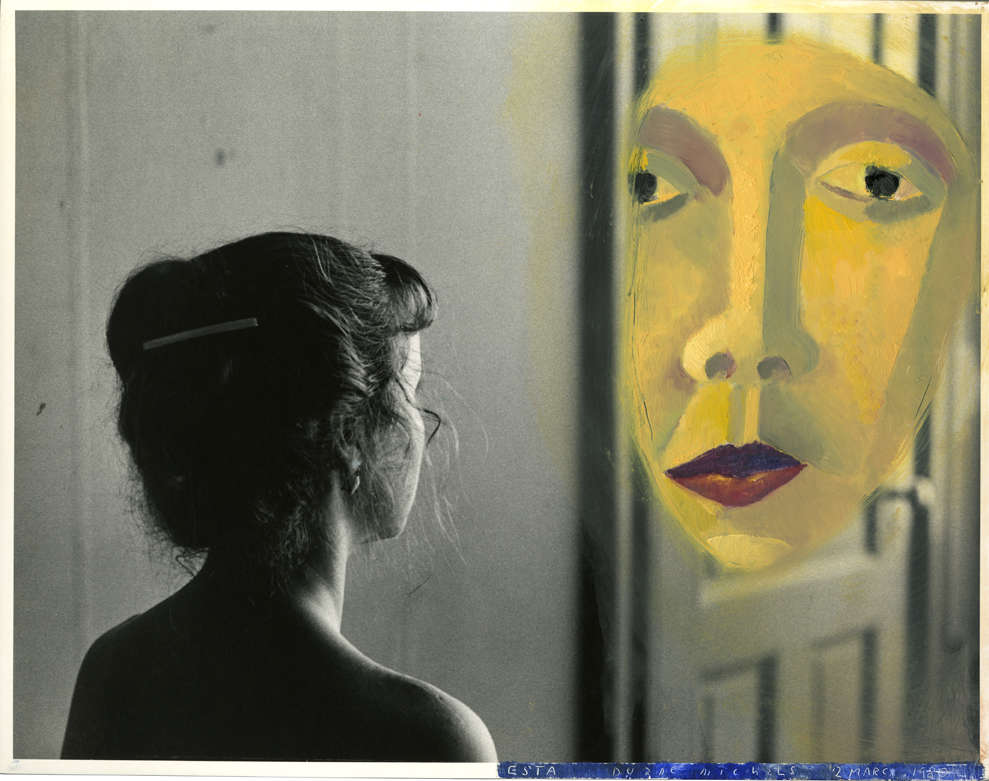 Duane Michals, Esta Contemplates the Enigma, March 2, 1980