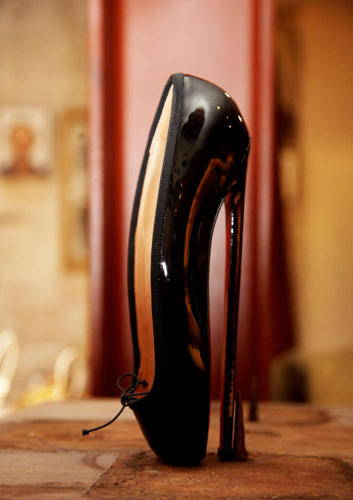 Todd Selby, Christians High Heel Ballerina Shoe, 2008