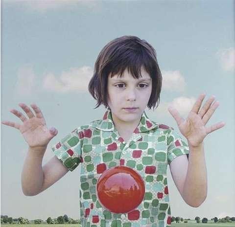 Loretta Lux, The Red Ball, 2001
