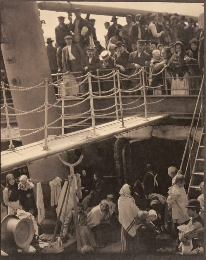 Alfred Stieglitz, The Steerage, 1907