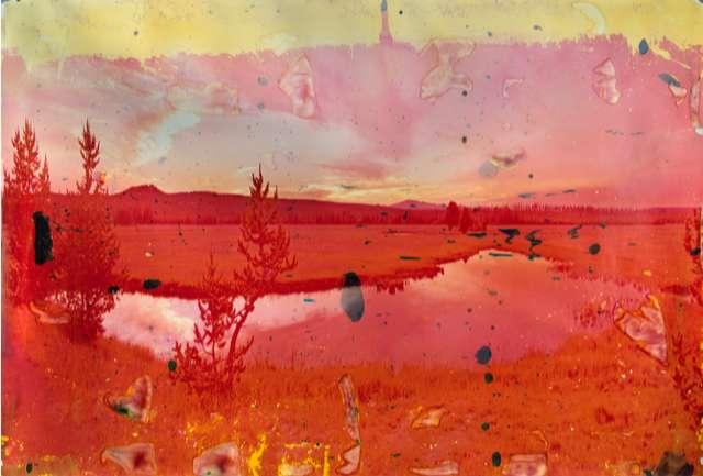 Matthew Brandt, Gibbon Lake, WY 4, 2013