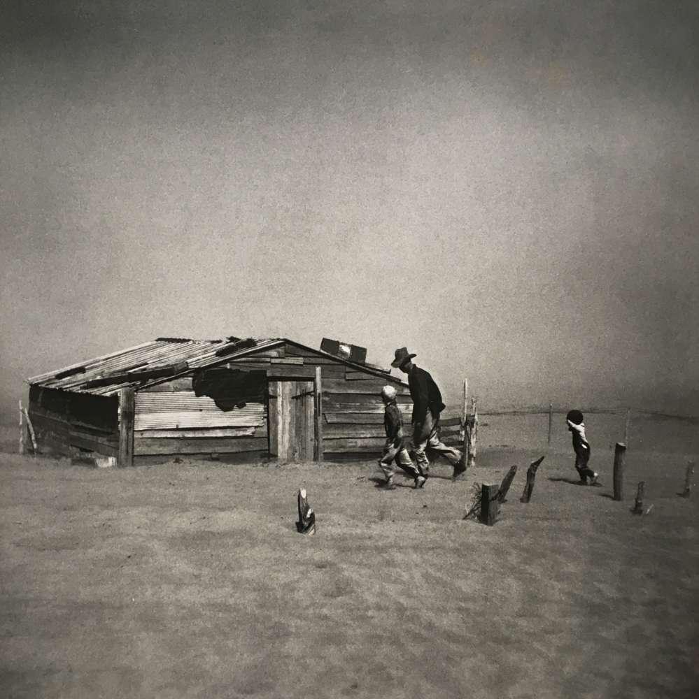 Arthur Rothstein, Dust Storm, Cimarron County, Oklahoma, 1936