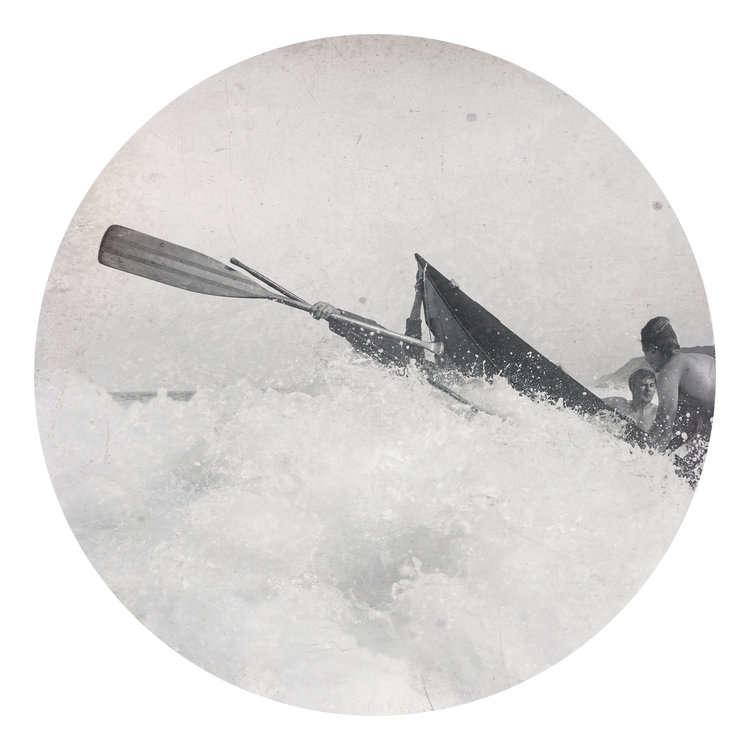 Kahn + Selesnick, Engulfed By Waves, 2015