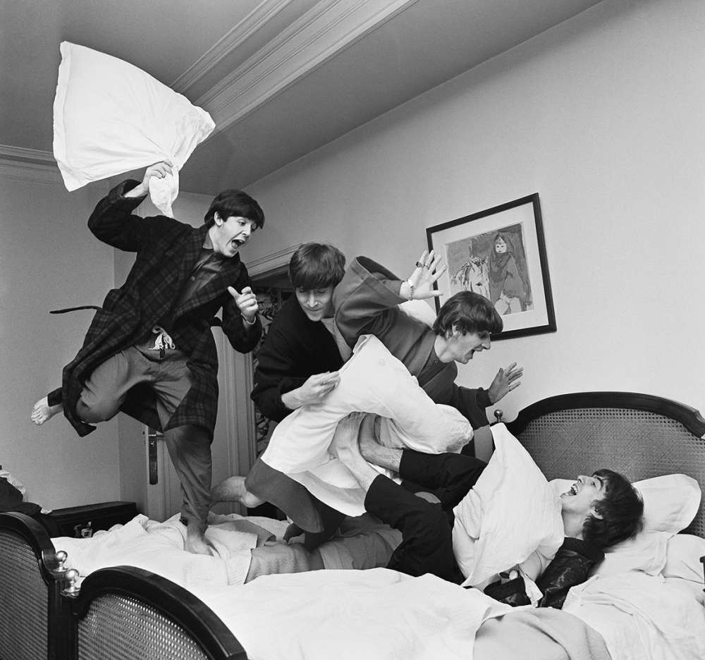 Harry Benson, Beatles Pillow Fight