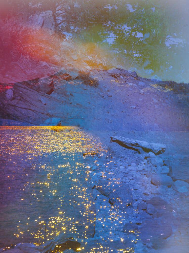 Terri Loewenthal, Psychscape 06 (Gold Lake, CA), 2017