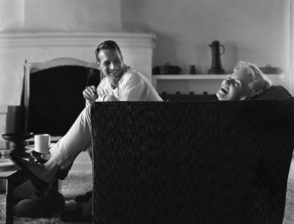 Sid Avery, Domestic Bliss: Newman and Woodward at Their Beverly Hills Home, 1958