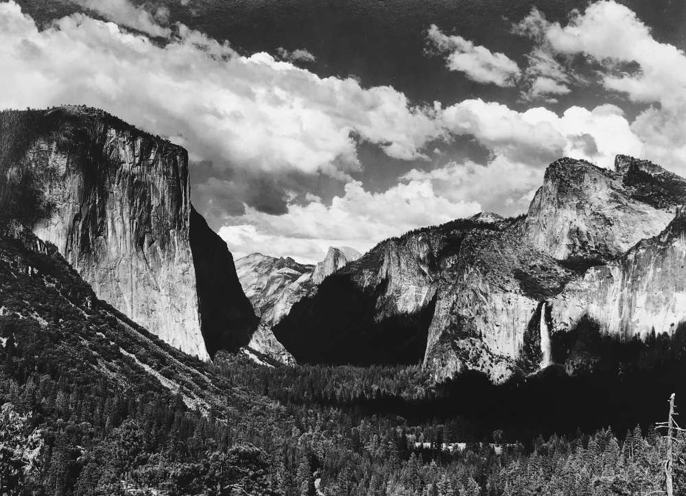 Ansel Adams, Yosemite Valley, 1935