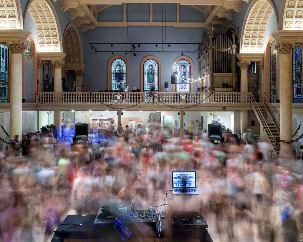 Matthew Pillsbury, Morning Rave, Judson Memorial Church, 2014