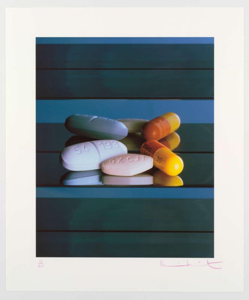 Elton John AIDS Foundation Photography Portfolio I, Damien Hirst: AIDS/HIV Drugs, 2008