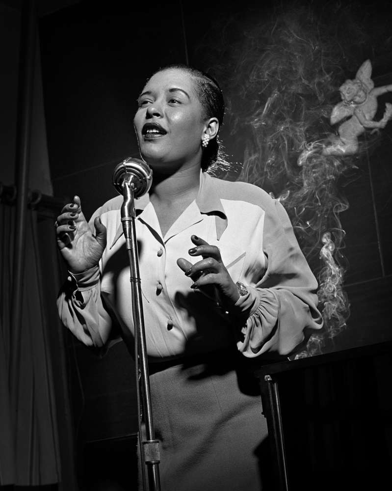 Herman Leonard, Billie Holiday, New York City, (BLH03), 1949