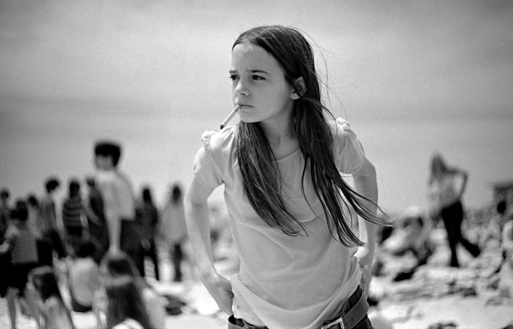 Joseph Szabo, Priscilla, Jones Beach, 1969