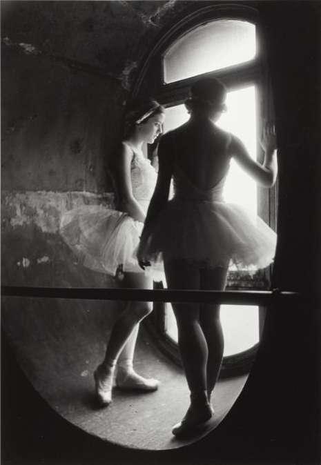 Alfred Eisenstaedt, Swan Lake Rehearsal, Grand Opera de Paris, 1930