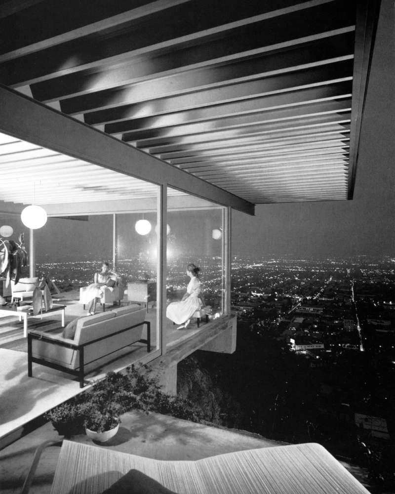 Julius Shulman, Case Study House #22, 1960, Pierre Koenig, Los Angeles, California, 1960